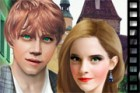Efsane film serisi Harry Potter Hermione ve Ron...